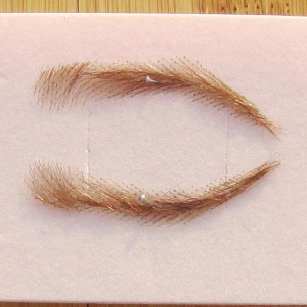 Women's Human Hair Eyebrow Wig