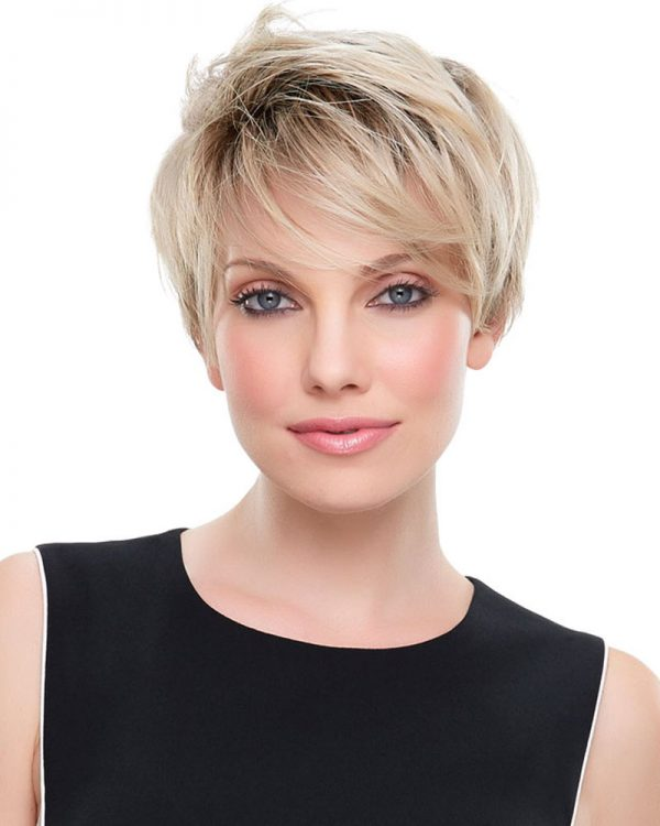 Blonde Lace Front Wig Evan Lace Front & Monofilament Crown Synthetic Wig By Jon Renau
