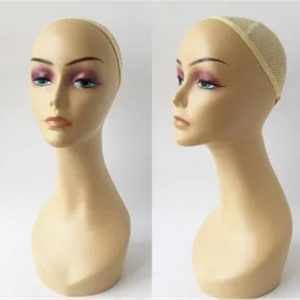 Wig Display Realistic Plastic Women Mannequin Head