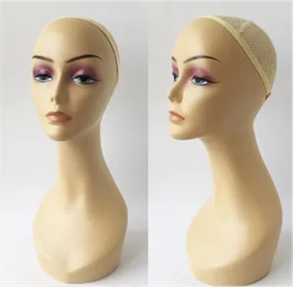 Wig Display Realistic Plastic Women Mannequin Head