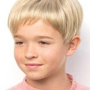 Kids' Rooted Straight Synthetic Lace Front Wig