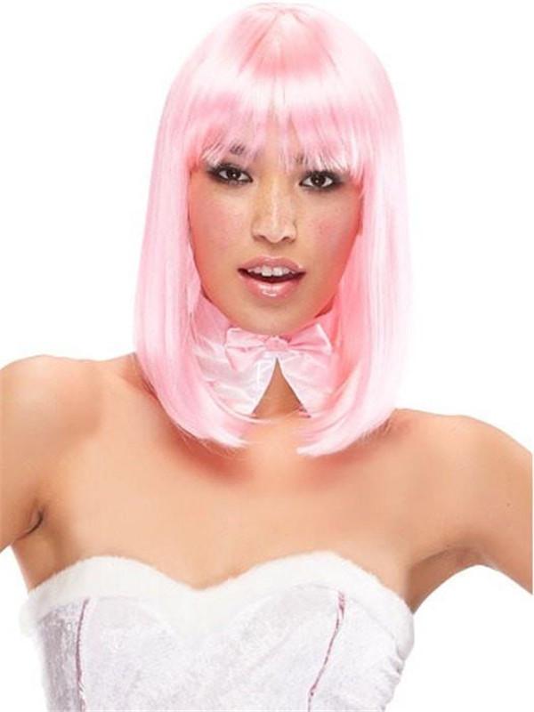 Anime China Doll Long Synthetic Wig Basic Cap