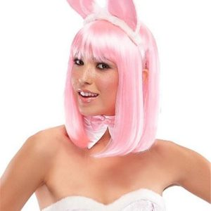 Anime China Doll Long Synthetic Wig Basic Cap
