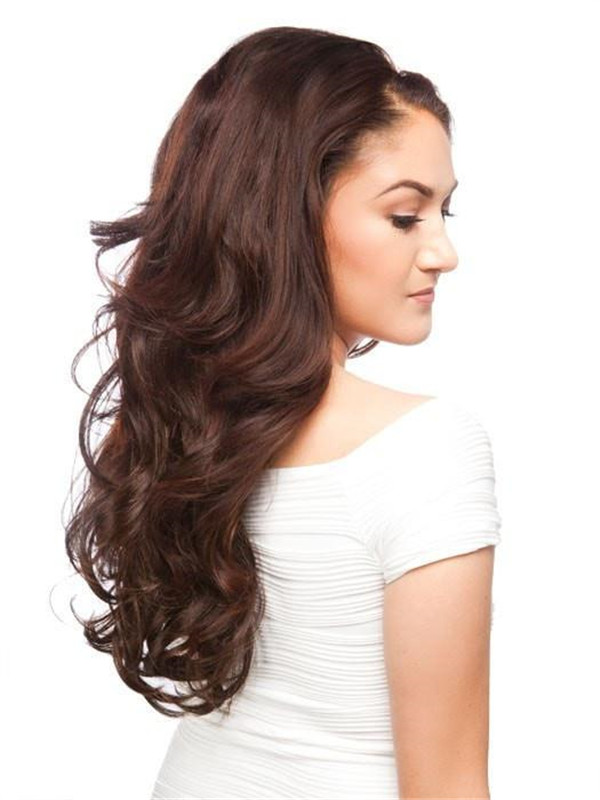 New Arrivals Falls & Half Rooted Synthetic Half Wig