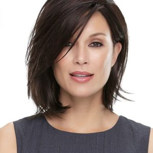 Mid Length Five Wits Lace Front & Monofilament Synthetic Wig By Jon Renau