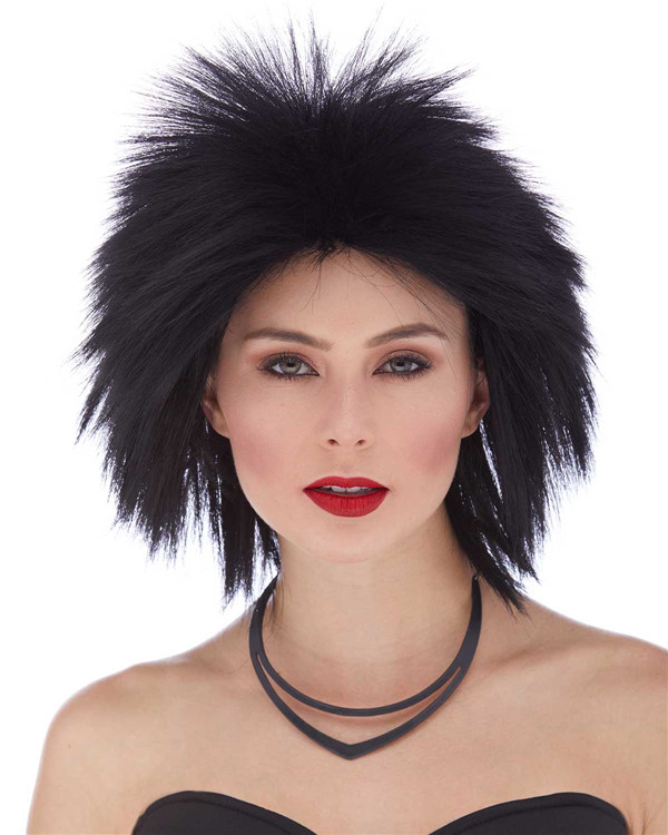 Short Glam And Gore Rockstar Wig By Characters