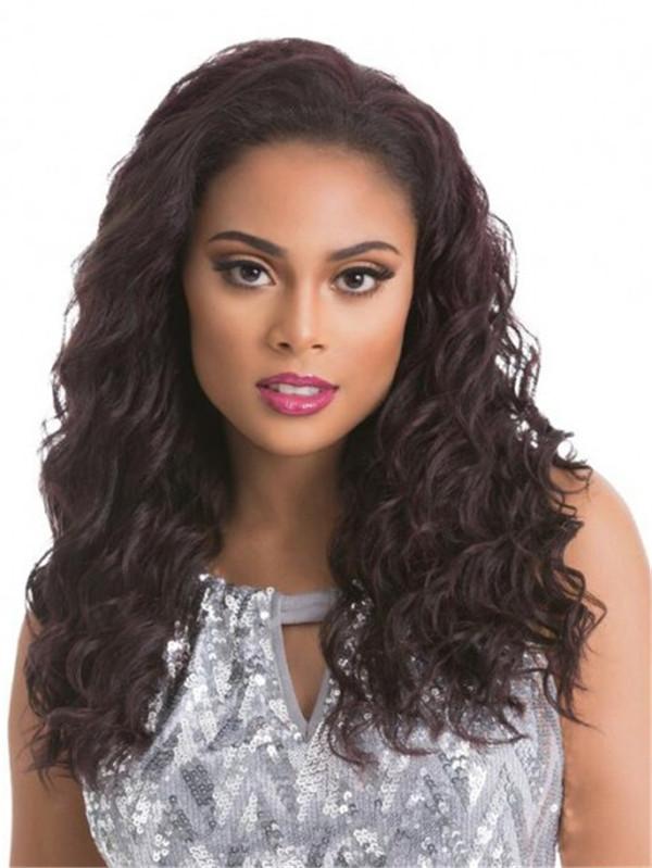 Curly Retro Sensationnel Synthetic Half Wig