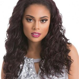Curly Retro Sensationnel Synthetic Half Wig