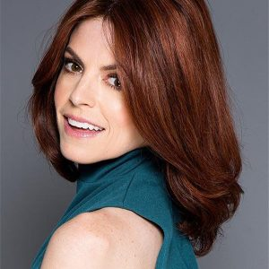Straight Bob Brunette Human Hair Lace Front Wig
