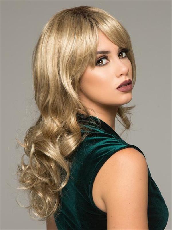 Long Wavy Avery Synthetic Wig Basic Cap For Women