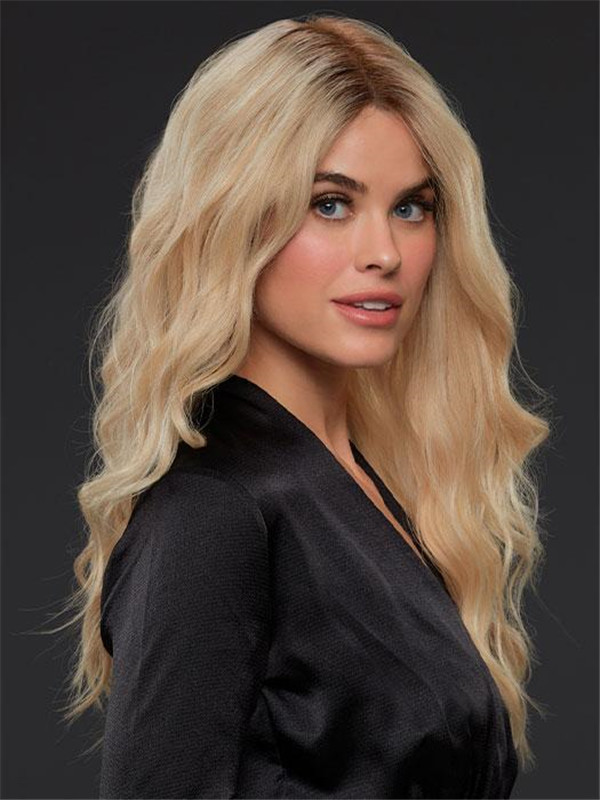 Long Straight Remy Human Hair Lace Front Wig Hand-Tied