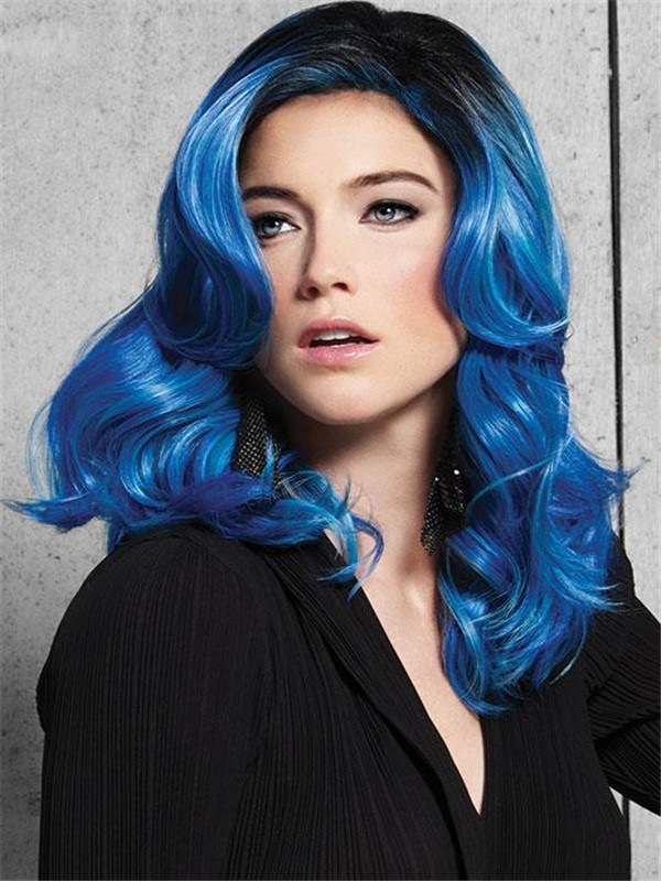 Waves Synthetic Wig Basic Cap