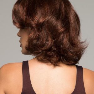 Curly Rooted Synthetic Lace Front Wig Hand-Tied