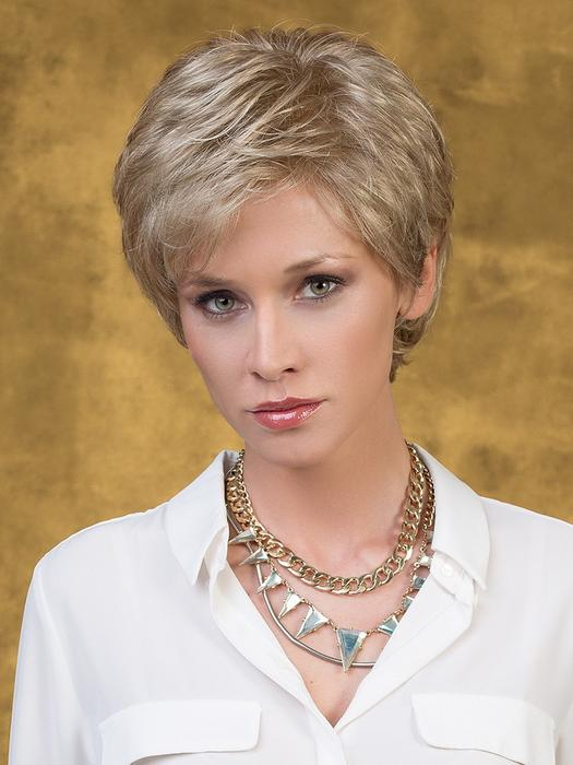 Short Pixie Synthetic Lace Front Wig Hand-Tied