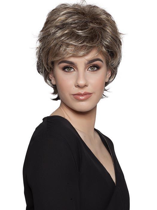 Straight Short Synthetic Wig Basic Cap