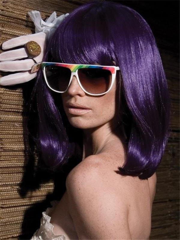 Short GoGo Girl Synthetic Wig Basic Cap
