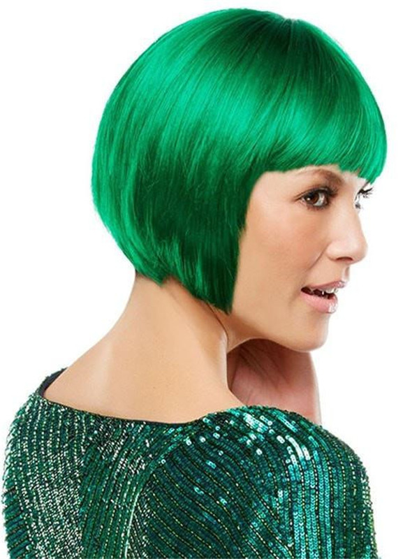 Colored Synthetic Wig Basic Cap