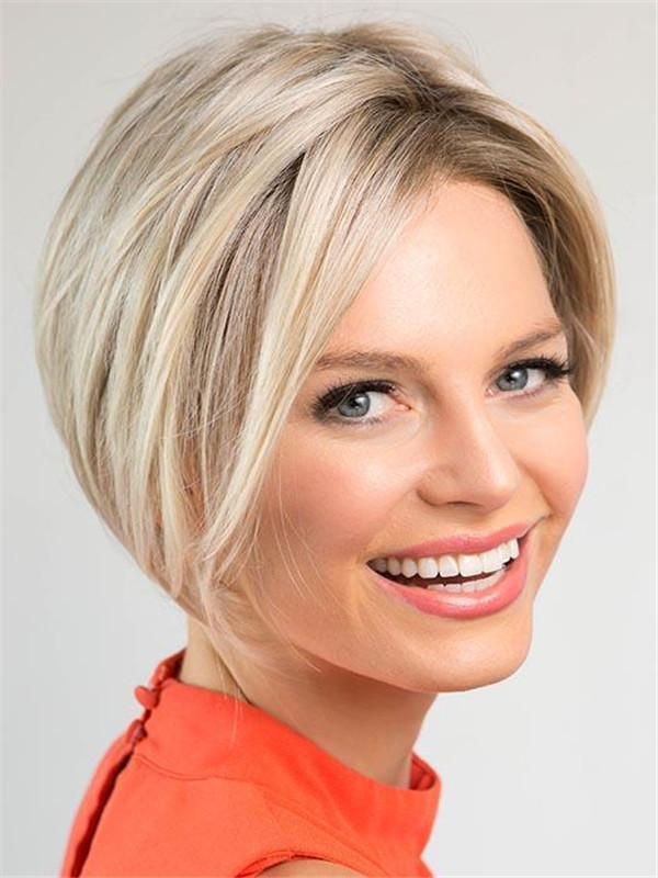 Straight Synthetic Lace Front Wig Basic Cap