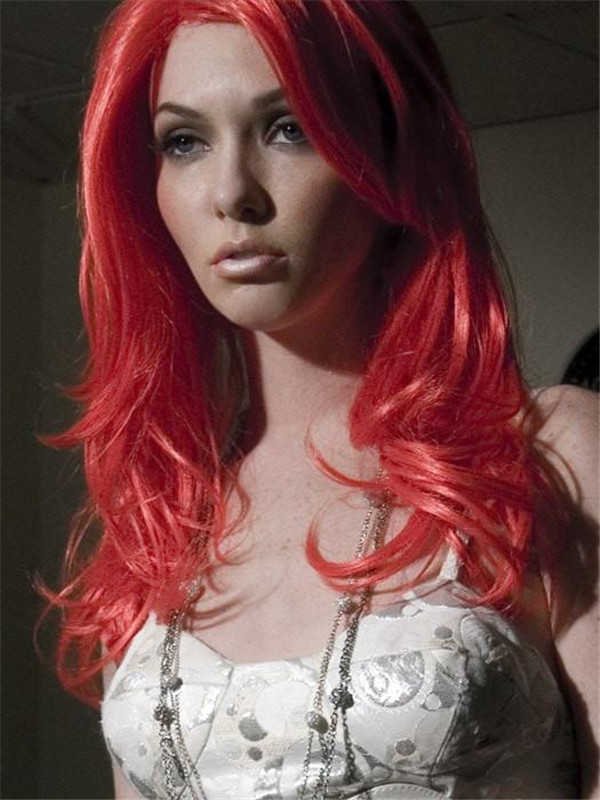 Colored Nocturnal Synthetic Wig Basic Cap