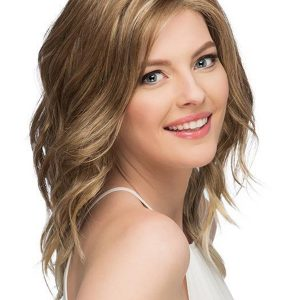 Straight Wavy Layered Synthetic Lace Front Wig