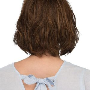 Short Brunette Synthetic Lace Front Wig