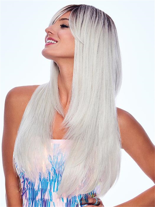 Long Sugared Pearl HF Synthetic Wig Basic Cap New Arrivals