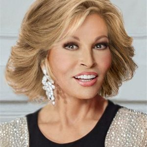 Short Straight Human Hair Lace Front Wig Hand-tied For Women