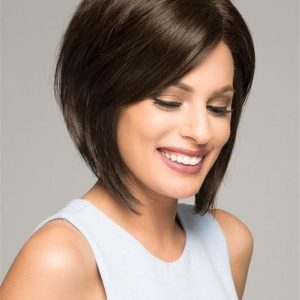 Mid-length New Arrivals Synthetic Lace Front Wig Mono Top