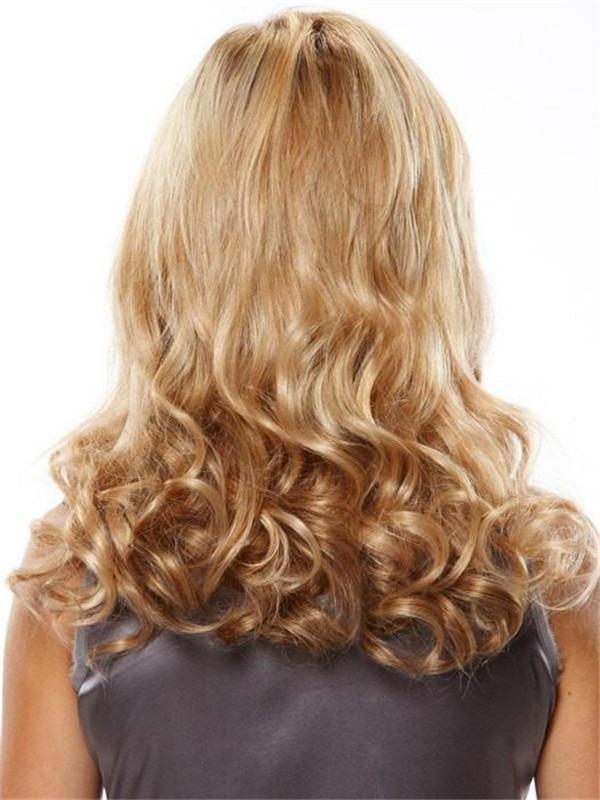 Extensions Piece Human Hair Volumizer