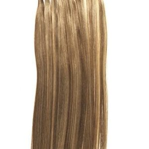 "14"" Silky Straight Remy Human Hair Extensions"