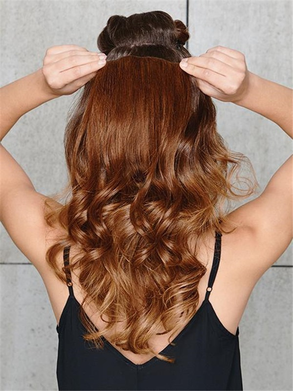 Rooted Extensions 10 Piece Human Hair