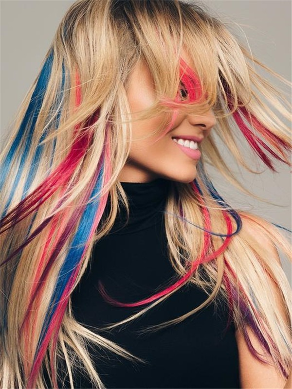 """16"""" Human Hair Extension Strips Color"""