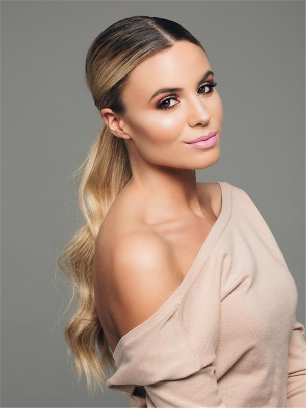 Human Hair Pony Wrap-Around Ponytail All Hairpieces