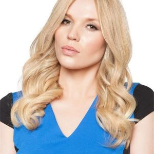Exclusive Colors Human Hair Topper Half