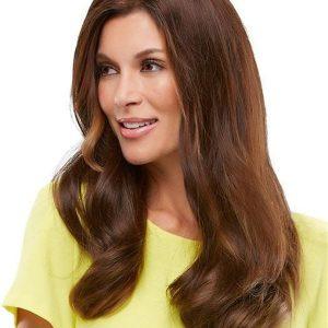 "18"" Top Form Human Hair Topper Half"