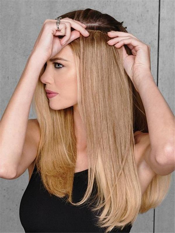 "20"" Human Hair Extensions Kit"