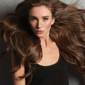 "20"" Invisible HF Synthetic Hair Extensions"