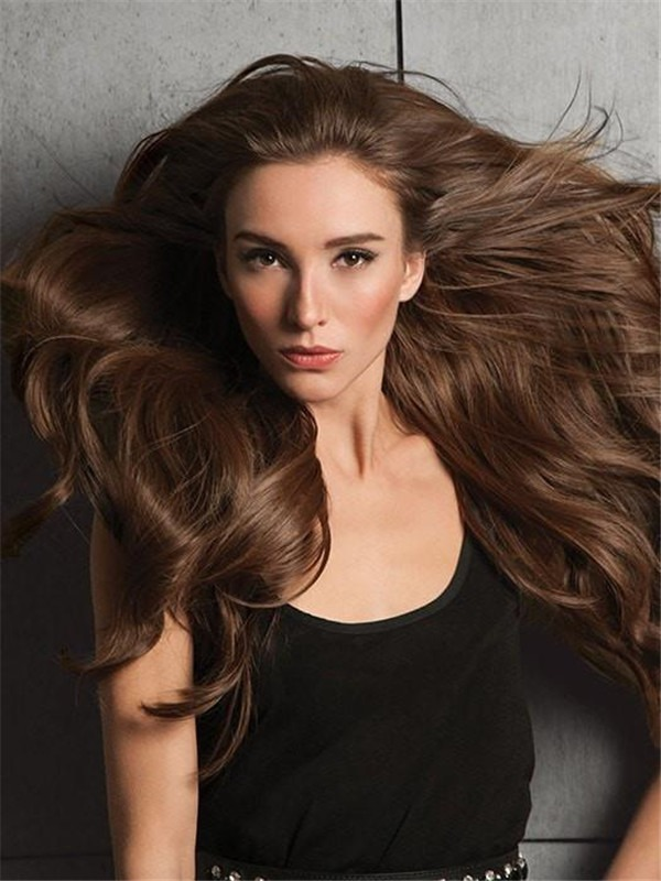 """20"""" Invisible HF Synthetic Hair Extensions"""