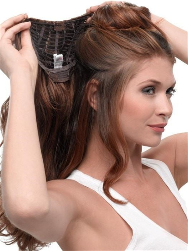 """23"""" Wavy HF Synthetic Hair Extension"""