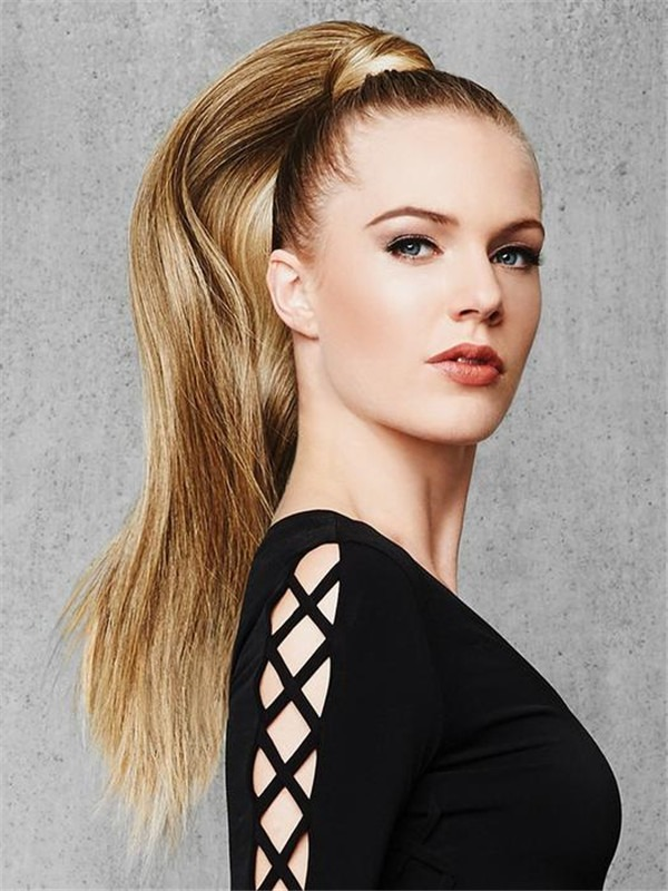 Straight Pony Synthetic Ponytail All Hairpieces