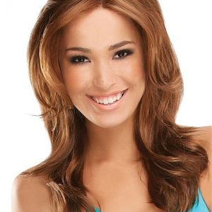 Long Adriana Synthetic Lace Front Wig Rooted For Women