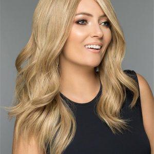 Long Straight Human Hair Wig Mono Top For Women