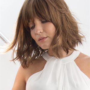 Wavy Mid-length Synthetic Lace Front Wig For Women
