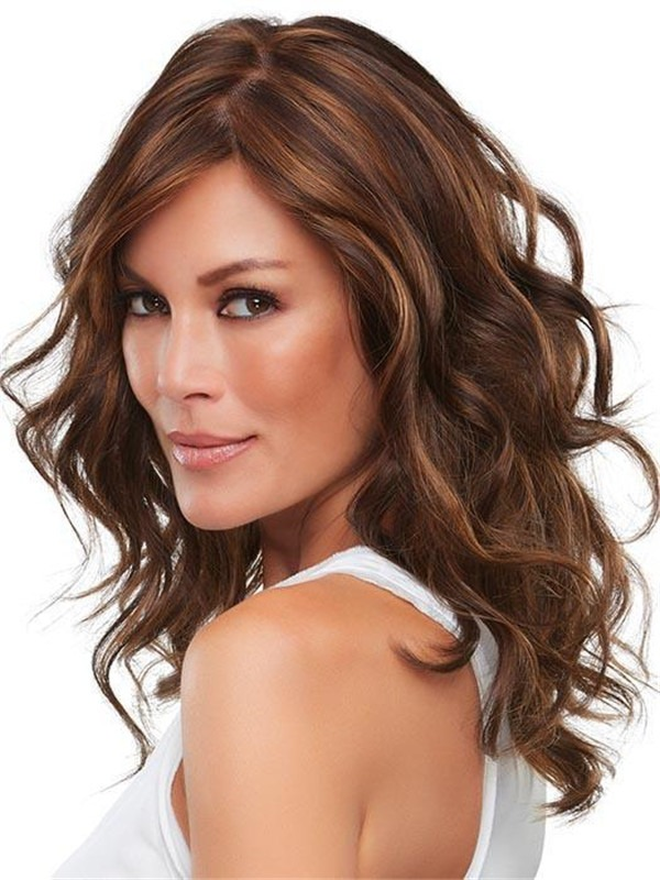 Long Curly Alexis Synthetic Wig For Women
