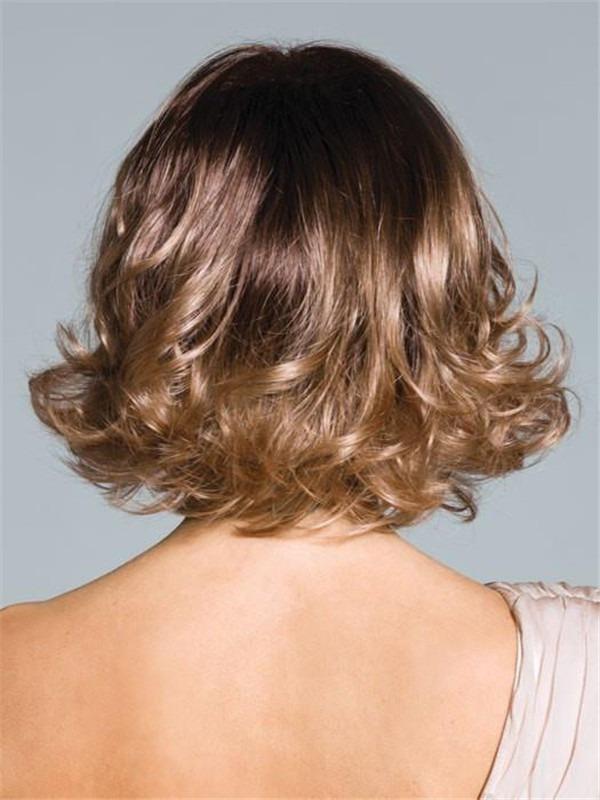 Wavy Synthetic Wig Basic Cap