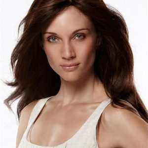 Long Synthetic Wig Mono Top For Women
