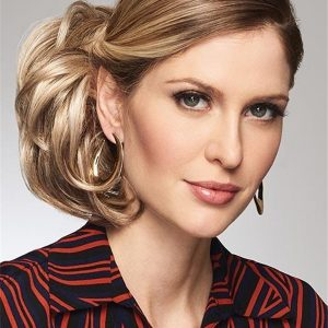 Aperitif Synthetic Hair Bun Interlocking Clips Half