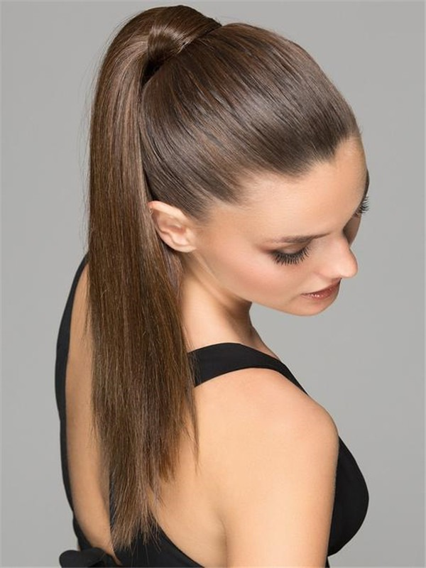Aqua Synthetic Ponytail All Hairpieces