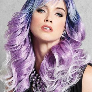 Long Curly HF Synthetic Wig Basic Cap