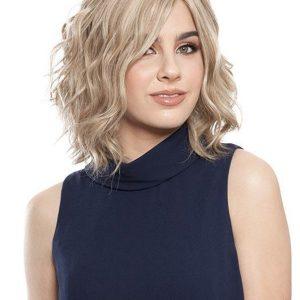 Short Straight Brunette Human Hair Wig For Women